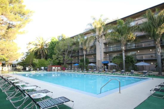 Sportsmen's Lodge Hotel: Pool area