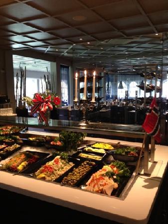 Scandic Hafjell: restauranten på hotellet
