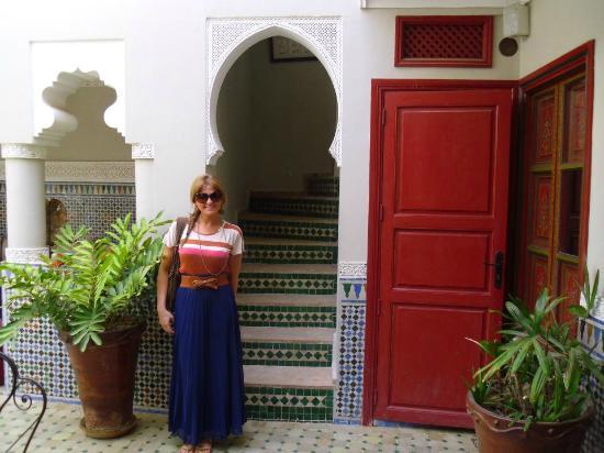 Riad Teranga : In the courtyard