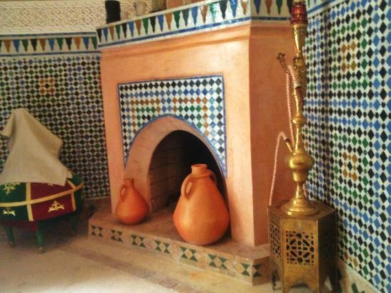 Riad Teranga : In the dining room