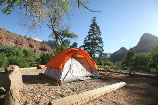 Watchman Campground: Scenic campsite