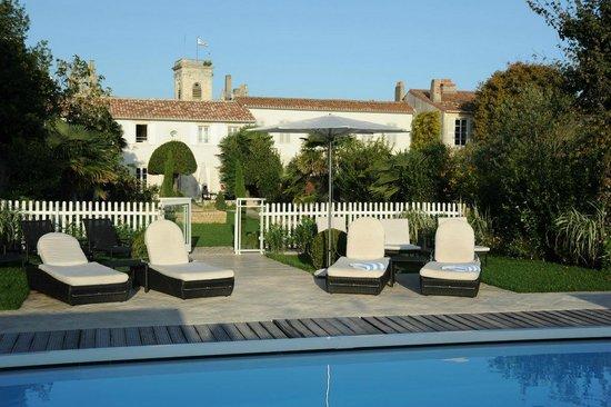 Hotel de Toiras: Piscine à la Villa Clarisse