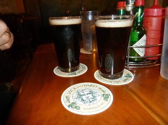 Jack of the Wood: French Broad Wee Heavy-Er & Green Man ESB