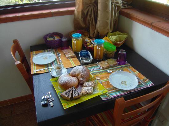 A Casa di Sonia : La splendida colazione!