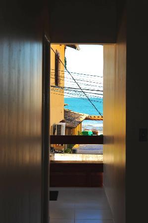 Pousada Manaia: quartos bem perto do mar