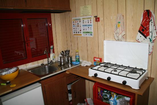 Villaggio La Siesta : cucina attrezzata