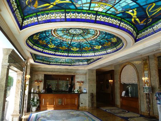 Hotel Simplon: Reception