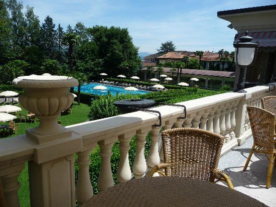 Hotel Simplon: Outdoor Terrace & Pool