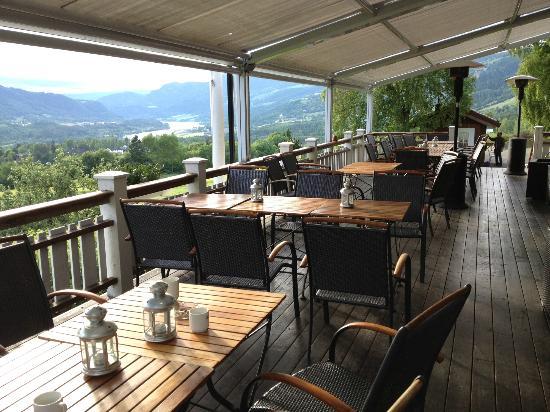 Nermo Hotell Hafjell: la terrazza
