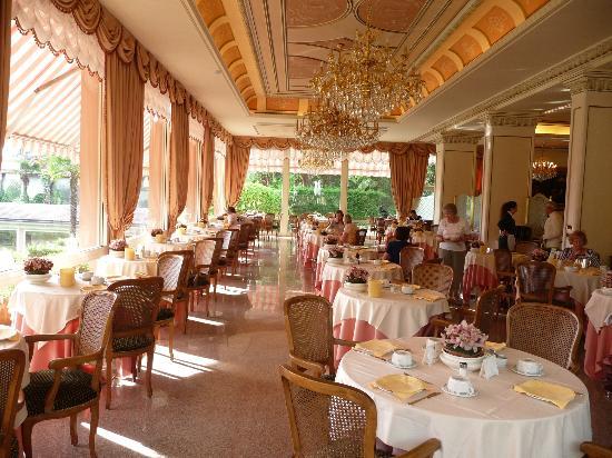 Hotel Simplon: Dining Room