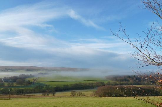 The Redesdale Arms: Misty morn'