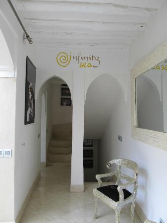 Riad Infinity Sea : l'ingresso del riad