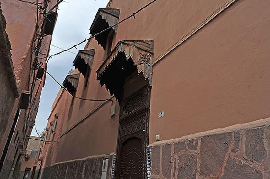 Riad Le Marocain: Entrée du riad