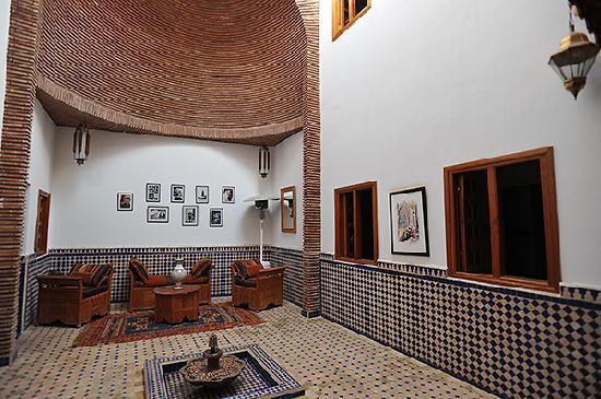 Vue Partielle Du Patio Intérieur Picture Of Riad Le Marocain