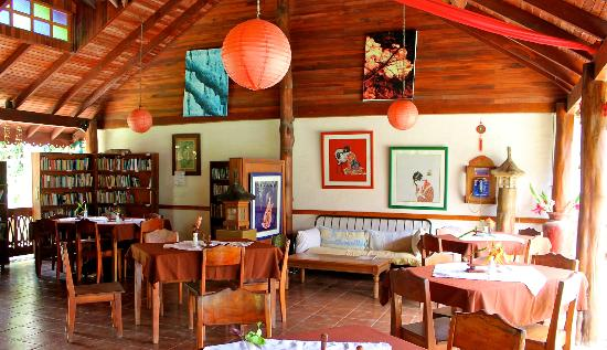 The Lotus Garden: Dining room