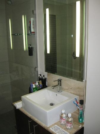 DoubleTree by Hilton Cape Town - Upper Eastside: Clean, modern bathroom