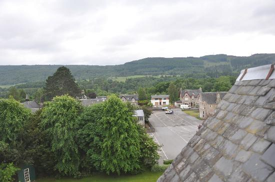 Craigroyston House and Lodge: View from room no 8
