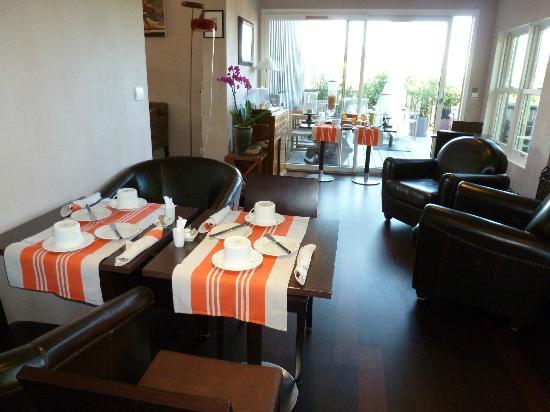 Hotel des Dunes: Breakfast Room