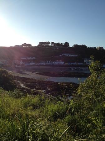 Rozel Camping Park: beautiful Rozel bay sunset