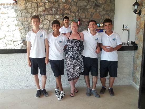 Perdikia Hill: Hardworking Waiters
