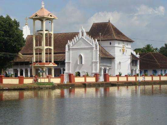 Adenz Backwater Home Stay: Ancient Church