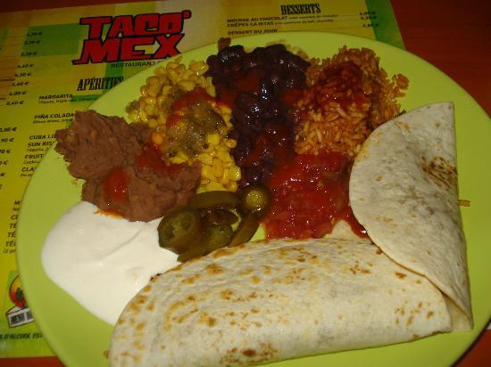 Taco'Mex : Fajitas