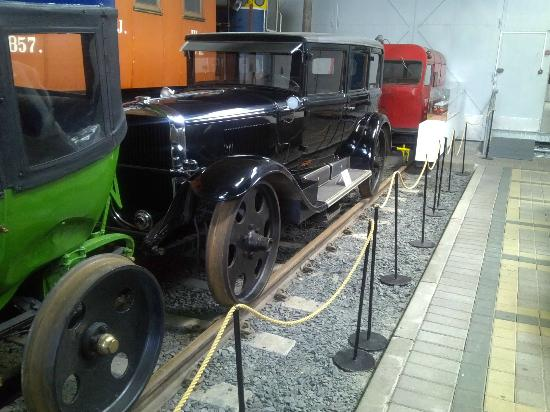 The Finnish Railway Museum: A railroad car
