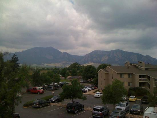 Days Hotel Boulder: View from my hotel room!