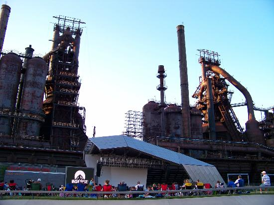 SteelStacks: Old Blast Furnace, Concert area