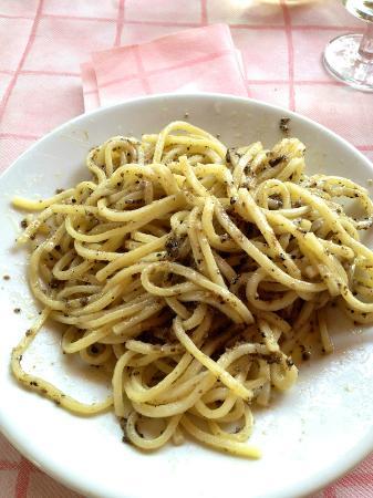 Trattoria Cibocchi: stringozzi al tartufo