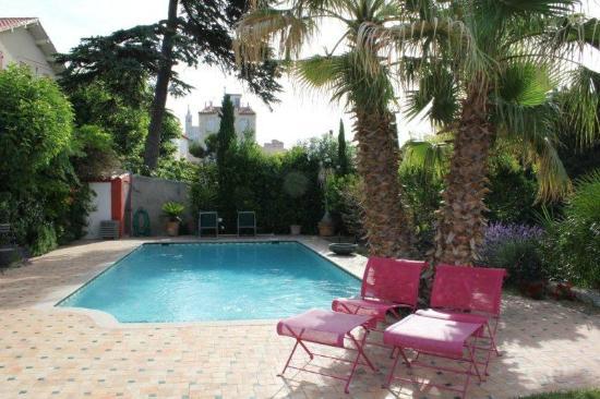 La Bastide du Roucas : La piscina e la zona giardino
