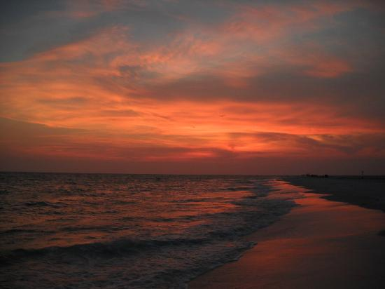Isla Anna Maria, FL: Sunset on Anna Maria Island, Florida