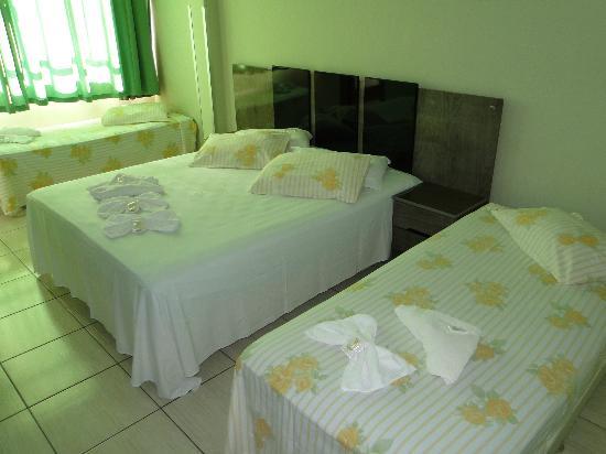 Presidente Hotel : Foto do Apartamento (vista do Jardim da Fonte Luminosa