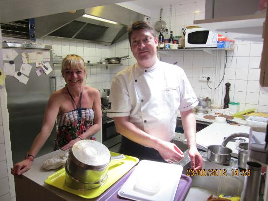 Melun, France: chef Pascal