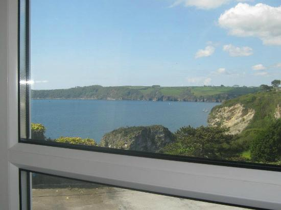 The Carlyon Bay: View from bedroom