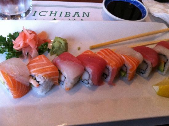 Ichiban Japanese & Korean: Rainbow Roll