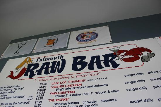 Falmouth Raw bar