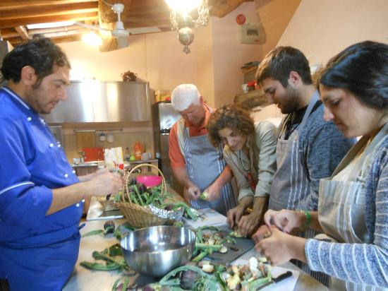 Villa Cicolina: Our cooking class with Mimmo