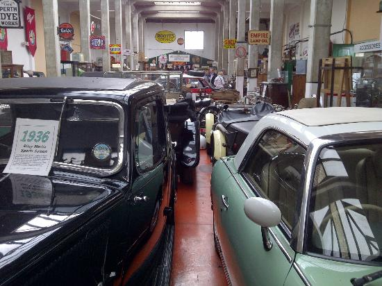 Mouldsworth Motor Museum: general view