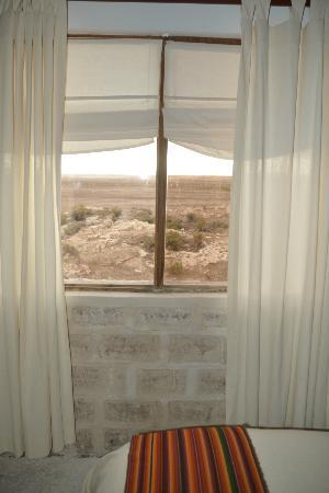Hotel de Sal Luna Salada: Vista desde la habitación