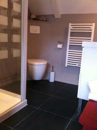 La Haute Flourie: Salle de bains