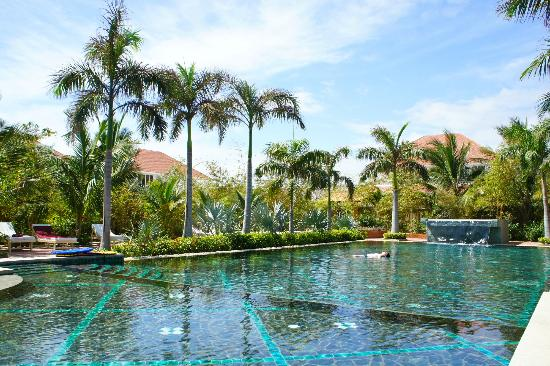 Full Moon Village: La piscine