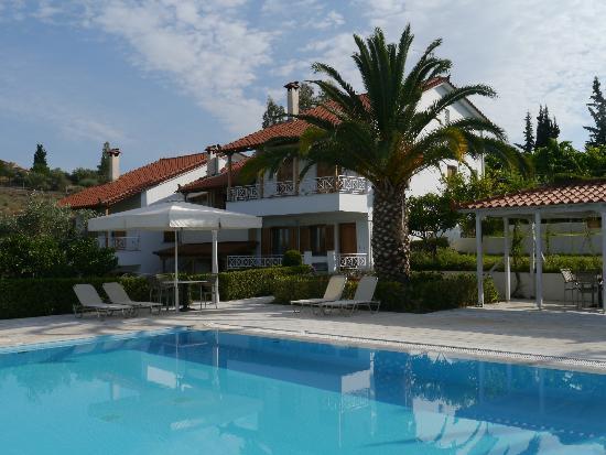 Villa Christinas from pool area
