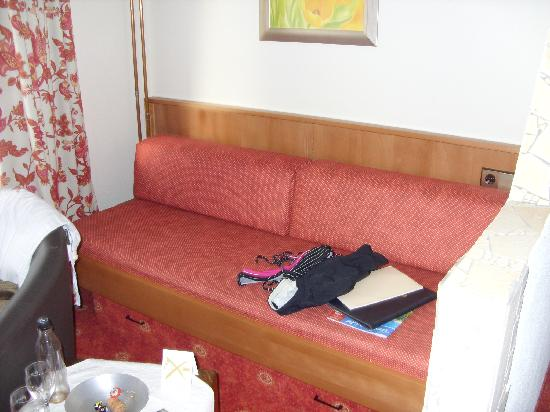 Flair Hotel Sonnenhof : Sofa Ecke