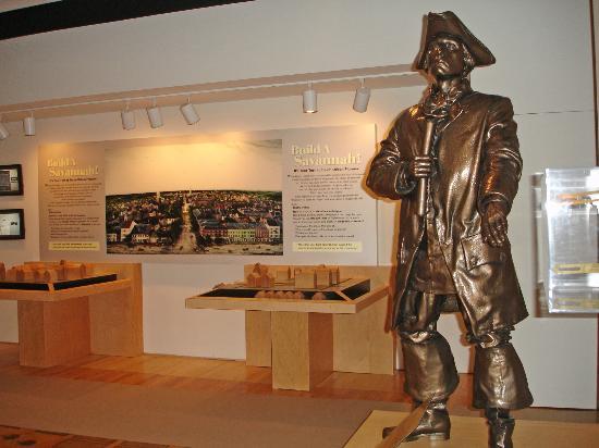 Massie Heritage Center : James E. Oglethorpe