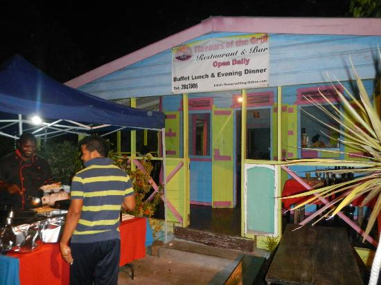 Flavours of the Grill: Great resturant in Gros Islet!