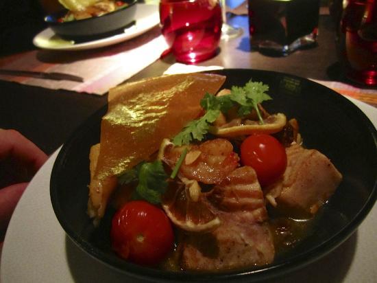 Restaurant Thierry Saveurs et Cuisine : Spicy fish tagine