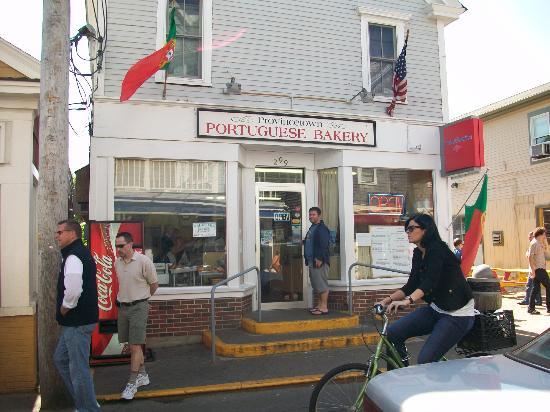 Provincetown Portuguese Bakery: Freshly baked goods...