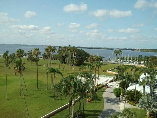 Safety Harbor Resort and Spa: Olympia Tower - View from Room 657
