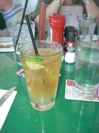 Tap & Grille : My Newport Stormy served on the Big Porch